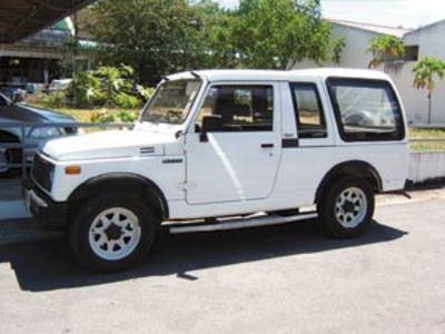 suzuki jeep 4wd in phuket thailand. Black Bedroom Furniture Sets. Home Design Ideas